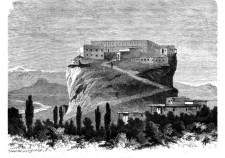 Замок Шамхалов в Кафыр-Кумук