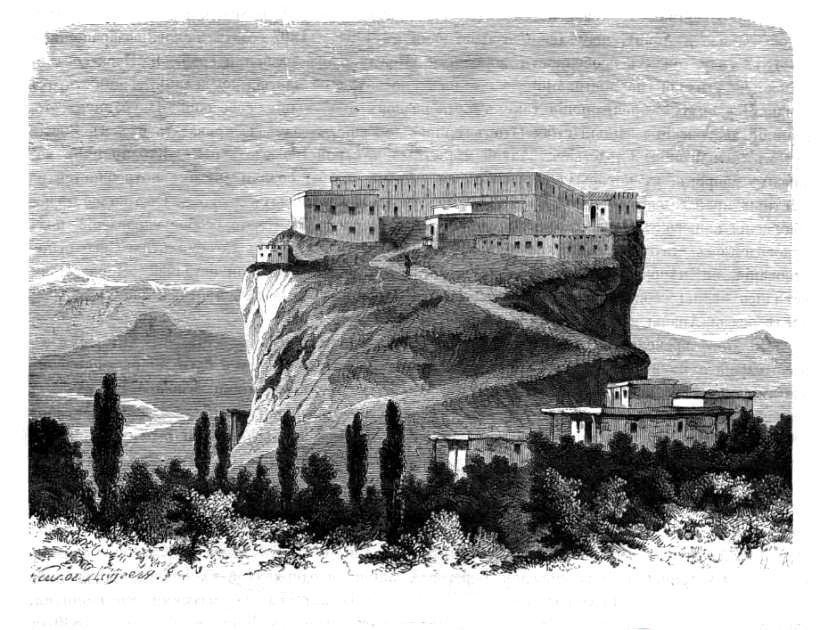 Замок Шамхалов в Кафыр-Кумиук