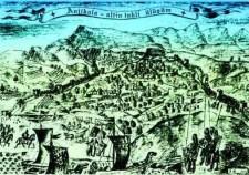 Тарки и Анжи-Кала, репродукция гравюры XVII века.