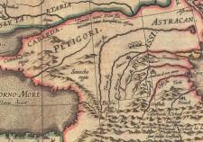 Карта Герарда Гесселя