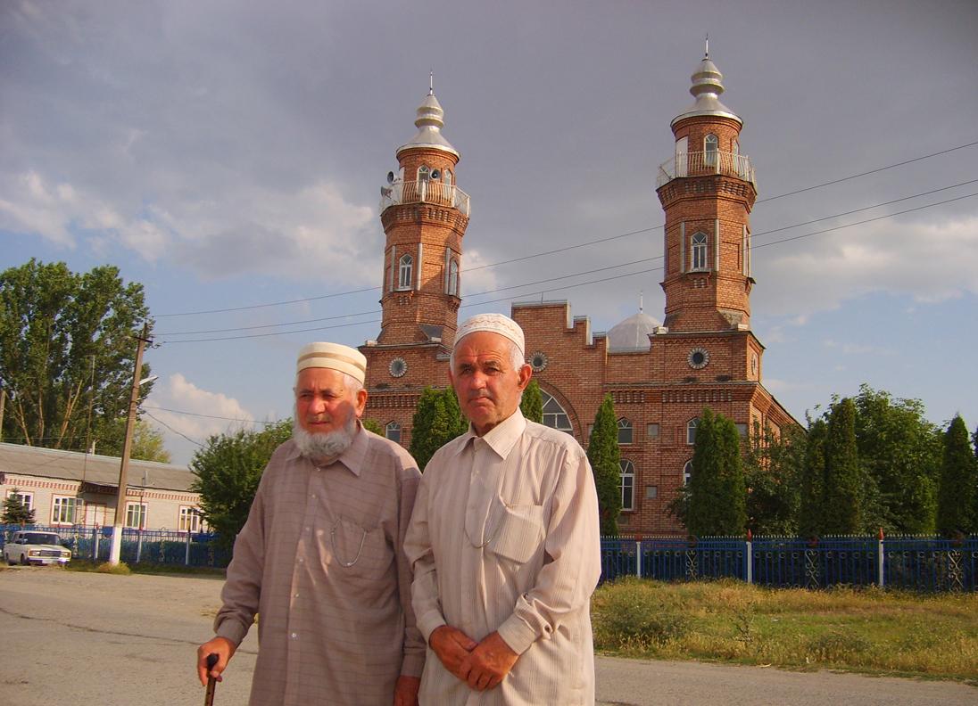 Старейшины селения Кизляр Моздокского района