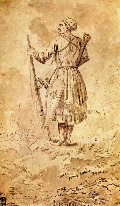 Портрет князя Александра Бековича Черкасского