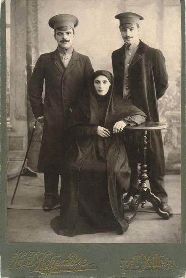 Семья Баммат, селение Кафыр-Кумух