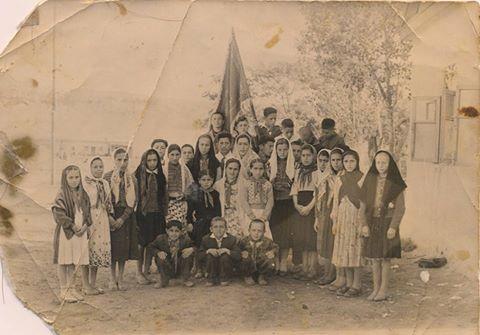 Пионеры Аданакской школы 1962 год
