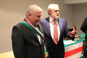 Хасан Бакаев вместе с Ахмедом Закаевым