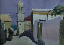 Тарки-Тау. Рисунок Александра Васильевича Тимофеева