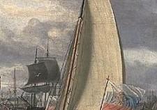 Струг,1696 год, картина голландского художника того времениАбрахама Сторка