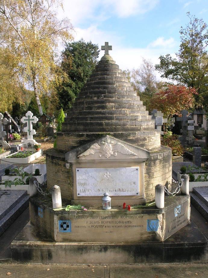 Памятник корниловцам (Галиполли, Турция)